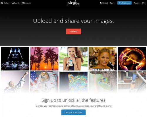 PicSky in 2017